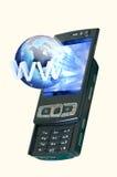 smartphone e Internet Imagem de Stock