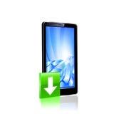 Smartphone editable vector file. Royalty Free Stock Photos