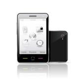 smartphone ekran sensorowy Zdjęcia Royalty Free