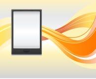Smartphone eller minnestavla Fotografering för Bildbyråer