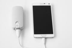 Smartphone-Energiebank Lizenzfreies Stockbild