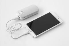 Smartphone-Energiebank Lizenzfreie Stockbilder