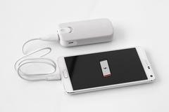 Smartphone-Energiebank Stockbilder