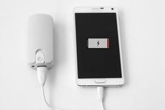 Smartphone-Energiebank Stockbild