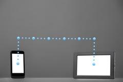 Smartphone et tablette images libres de droits
