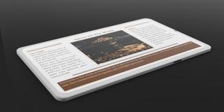 smartphone för tolkning 3d med kryddor Royaltyfri Fotografi