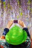 Smartphone fotografi Royaltyfria Foton
