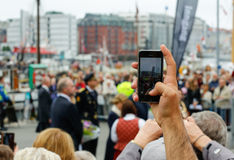 Smartphone fotografia zdjęcia stock