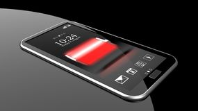 Smartphone with full battery Stock Photography