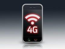 Smartphone 4G LTE Stock Image