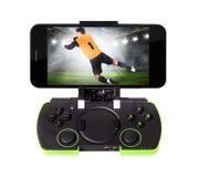 Smartphone с gamepad Стоковая Фотография RF