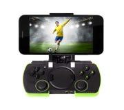 Smartphone с gamepad Стоковое Изображение