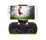 Smartphone with gamepad Stock Photos