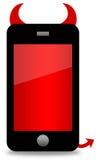 Smartphone-gevaar stock illustratie