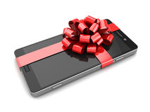Smartphone gift Stock Photography