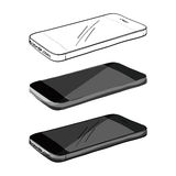 Smartphone Hand sketch Stock Image