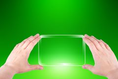 Smartphone in hands Royalty Free Stock Image