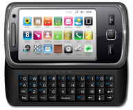 Smartphone, Handy Lizenzfreies Stockfoto