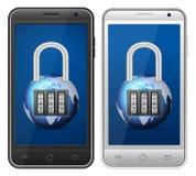 Smartphone-hangslot Stock Fotografie