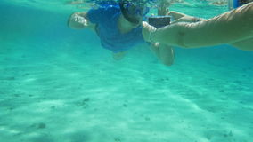 Smartphone helps them to make a good underwater stock video footage