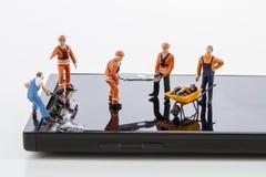 Smartphone-het schermreparatie Royalty-vrije Stock Afbeelding