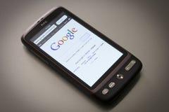 Smartphone HTC Desire Stock Image