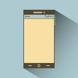 smartphone icon design Stock Photos
