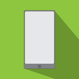 Smartphone icon flat design Stock Images