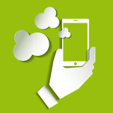 Smartphone icon , Smartphone icon web, Smartphone photo . Royalty Free Stock Image
