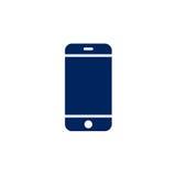 Smartphone ikona Telefonu komórkowego ekran Mockup smartphone Obraz Stock