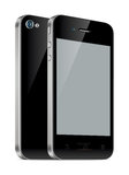 Smartphone-illustratie Royalty-vrije Stock Foto