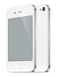 Smartphone-illustratie Stock Afbeeldingen