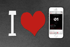 Smartphone iPhone της Apple 5s Στοκ Εικόνες