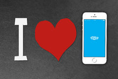 Smartphone iPhone της Apple 5s Στοκ Φωτογραφίες