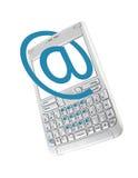 Smartphone a isolé sur le blanc Photo libre de droits