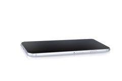 Smartphone isolou-se em um fundo branco Fotografia de Stock Royalty Free