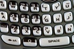 Smartphone keyboard macro Stock Image