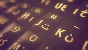 Smartphone Keypad Stock Photography