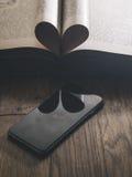 Smartphone Klasyczny Czarny Smartphone Obrazy Royalty Free