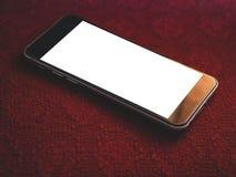 Smartphone Klasyczny Czarny Smartphone Zdjęcia Stock