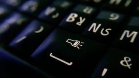 Smartphone klawiatura Zdjęcie Stock