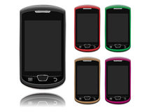 Smartphone Layout Royalty Free Stock Image