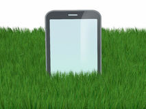 Smartphone like a gravestone Stock Photography