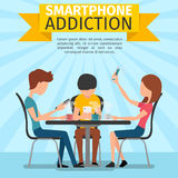 Smartphone, medios sociales y apego de Internet libre illustration