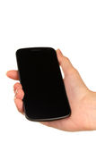 Smartphone mit Berührungseingabe Bildschirm. Stockfotografie