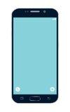 Smartphone mit einem breiten mit Berührungseingabe Bildschirm Stockbilder