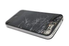 Smartphone mobile rotto Immagini Stock
