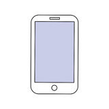 Smartphone mobile technology Royalty Free Stock Image
