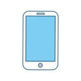 Smartphone mobile technology Stock Image