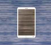 Smartphone Mobile Wood Royalty Free Stock Image